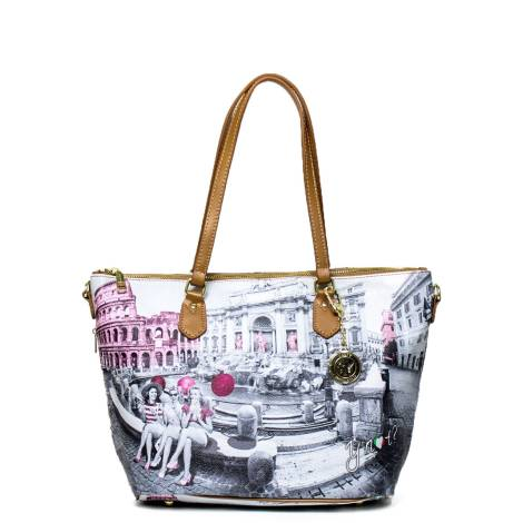 Y Not woman bag F-396 PINK G Rome