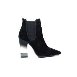 Luciano Baracchini 7312A Black Suede Ankle Boots Woman