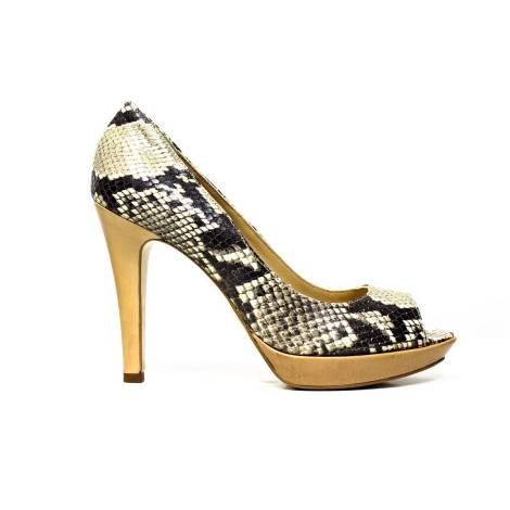 MATILDA WOMAN DECOLLETE' HIGH HEEL ART. 4090ROM BEIGE 4090ROM