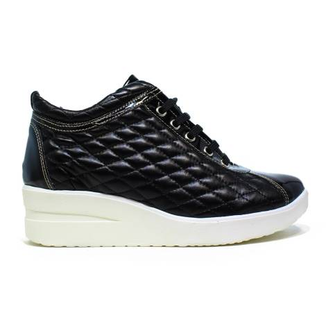 ONLY I RUCO QUILTED BLACK F.DO WHITE