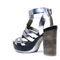 Janet Sport Sandals Woman High Heel 37909 Aveiro Barrel Shotgun
