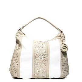 Cafe noir borsa donna QBL001 1938 bianco/sabbia