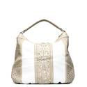 Cafe noir woman bag QBL001 1938 white/sand