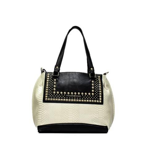 Roccobarocco woman bag ROBS0GB04 mastic black