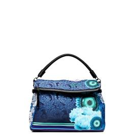 Desigual woman bag 51X51P9 5000 turquoise Liberty matematicas roman