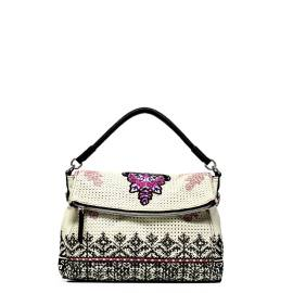 Desigual woman bag 52X50W2 1019 white New Liberty