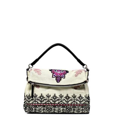 Desigual woman bag 52X50W2 1019 white