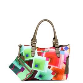 Desigual borsa donna Borsoporti romboide 41X5278 4065 multicolor