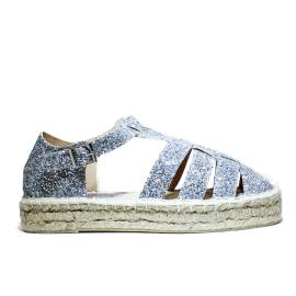 Greenwich Polo Club Espadrillas Bassa Donna PD P62142 Silver