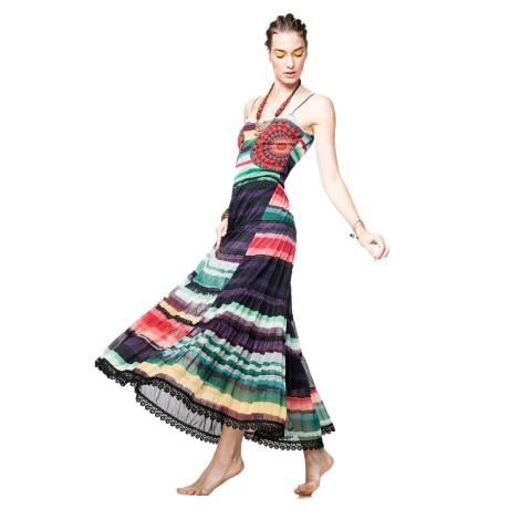 Desigual long dress 61V28Y2 5075