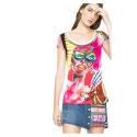 Desigual t shirt 61T24C9 1020 Hielo