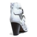 La Femme Plus Sandalo Donna Tacco Alto Art. LA3-5 Snapcalf White