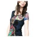 Desigual shirt 61T24C8 2000 black Yaiza