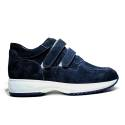 208DS ONLY BLUE SUEDE