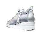 Agile by Rucoline Sneaker Wedge Medium High Art. 0226-82666 226 A Galaxy Cot Silver
