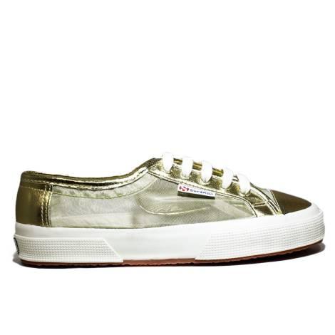Superga Sneaker Women Low Art. S 003660 2750-Netw 174 Gold