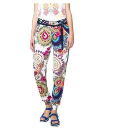 Desigual womens's pants 61P26B7 1000 Estela white