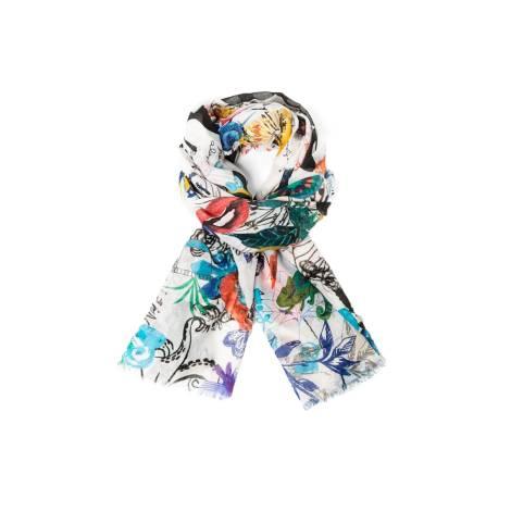 Desigual womens's scarf 61W54B3 1000