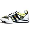 Versace Jeans Sneaker Donna Ginnica Bassa Art. E0VNBSA1 75563 MCI Bianco Oro