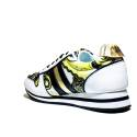 Versace Jeans Women's Gymnastic Low Sneaker Art. E0VNBSA1 75563 MCI White Gold