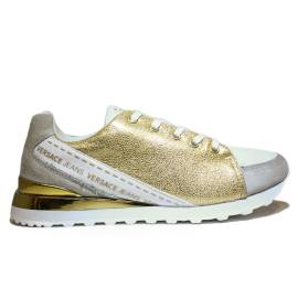 Versace Jeans Women's Gymnastic Low Sneaker Art. E0VNBSB2 75557 MCI Gold