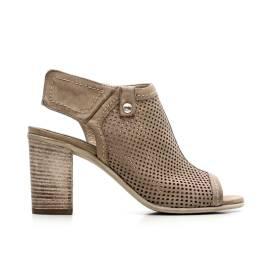 Nero Giardini Sandal Hell Woman Leather Item P615671D 406 beige