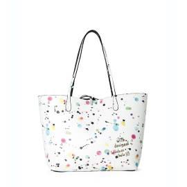 Desigual borsa donna 65X52E4 1000 bianco