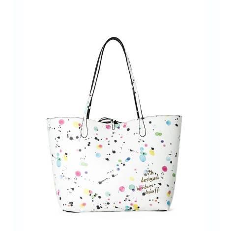 Desigual woman bag 65X52E4 1000 white