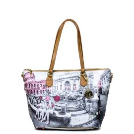 Y not borsa donna F-396 PINK G Roma