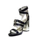 Versace Jeans Sandalo Donna Con Tacco Alto Art. E0VNBS31 75549 899 Nero
