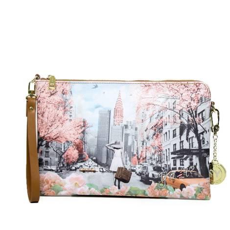 Y Not woman clutch bag F-303 SP N.Y New York