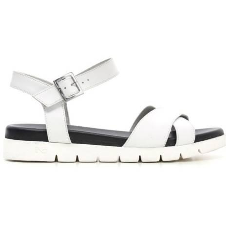 Nero Giardini Sandal Mid Woman Leather Item P615741D 707 White