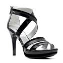 Nero Giardini Elegant Women High Heel Sandals Leather Item P615750DE 100 Black