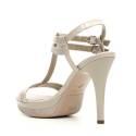 Nero Giardini Elegant Women High Heel Sandals Leather Item P615751DE 506 Safari