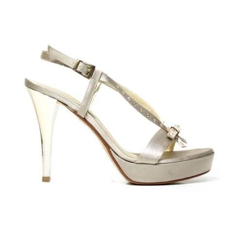 Bacta De Toi 396S Sandal Satin beige Heel