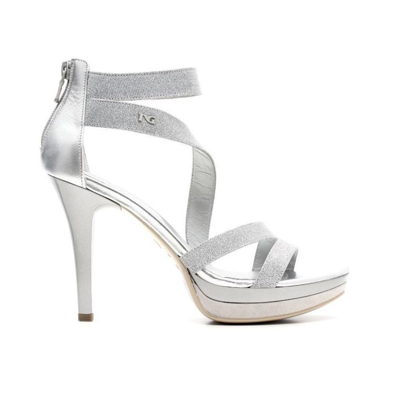 Nero Giardini Elegant Women High Heel Sandals Leather Item
