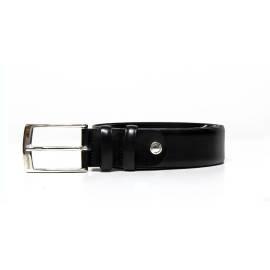 Men's leather belt Nero Giardini P551049U 100 ILCEA black