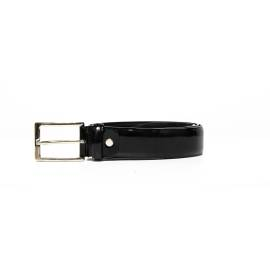 Men's leather belt leather Mario Valentino VCP0DP05 nero