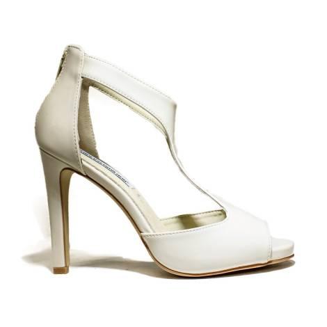 Francesco Milano High Heel Sandals Beige L210L