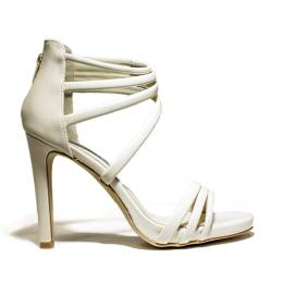 Francesco Milano High Heel Sandals Beige L209L