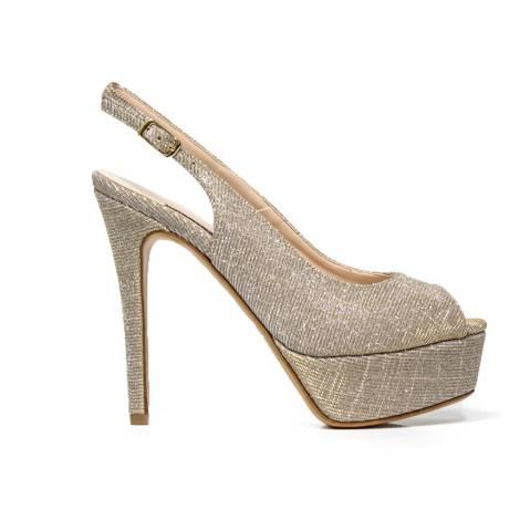 Elegant high-heeled sandal Albano NIGHT 4216 BEIGE