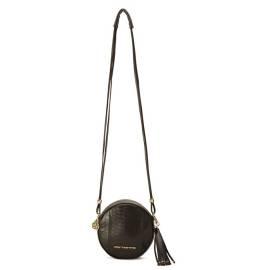 Fornarina Women's bag AEFBMV116UHA0000 Minerva Black Crocko