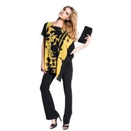 EDAS Luxury Fumagalli flower shirt