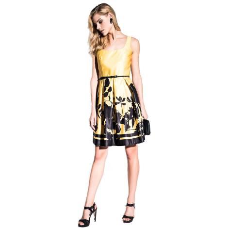 EDAS Luxury Filippino abito giallo corto