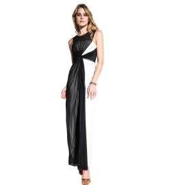EDAS Luxury Condita abito bianco e nero lungo