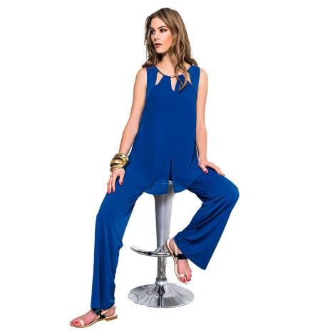 EDAS Ghiotta blue jumpsuit