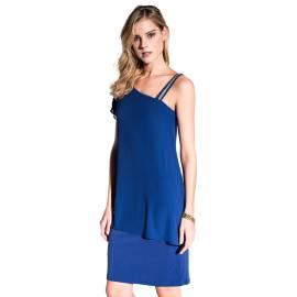 EDAS Luxury Gaione abito corto blu