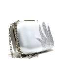 Ikaros gem clutch bag woman A1050 SILV Silver