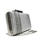 Ikaros borsa gioiello donna bauletto 9506 Argento