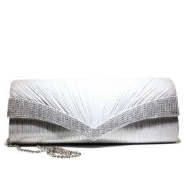 Ikaros borsa gioiello donna pochette A1050SILV Argento